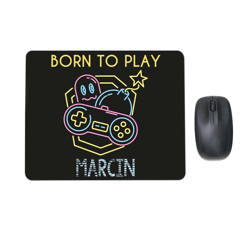 Podkładka pod mysz personalizowana z grafiką dla gracza born to play