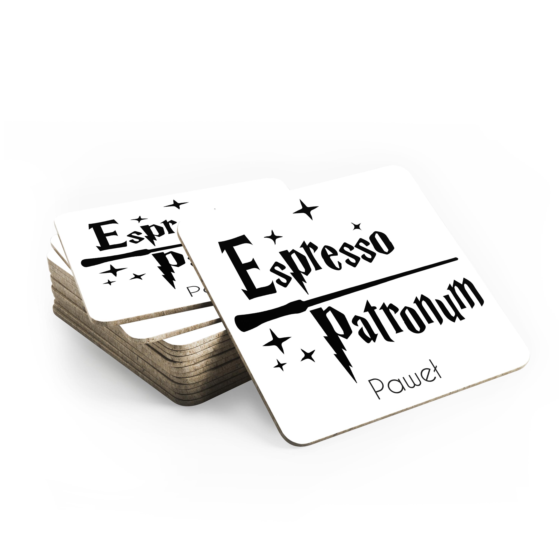 Foto podkładka pod kubek personalizowana dla fana Harrego Pottera