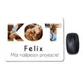 Fotopodkłada pod mysz personalizowana ze zdjęciami dla właściciela kota