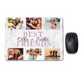 Foto podkładka pod myszkę z Twoim zdjęciem dla przyjaciół marmur best friends
