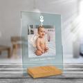 Plexi z nadrukiem personalizowane A4 foto pamiątka chrzest roczek komunia z hostią