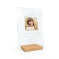 Druk zdjęcia na prezent ramka PLEXI z nadrukiem na różne okazje chrzest komunia różaniec