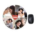 Okrągła podkładka pod mysz personalizowana foto z własnym zdjęciem mama