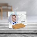 Plexi personalizowane ze zdjęciem 21x15 na komunię dla chrzestnej chrzestnego