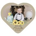 Magnesy personalizowane ze zdjęciem na roczek słoneczniki