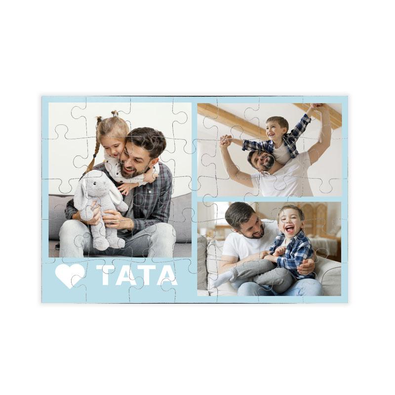 fotoPuzzle ze zdjęcia 35 elementów dla taty