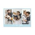 fotoPuzzle ze zdjęcia 35 elementów kolaż niebieski i love you