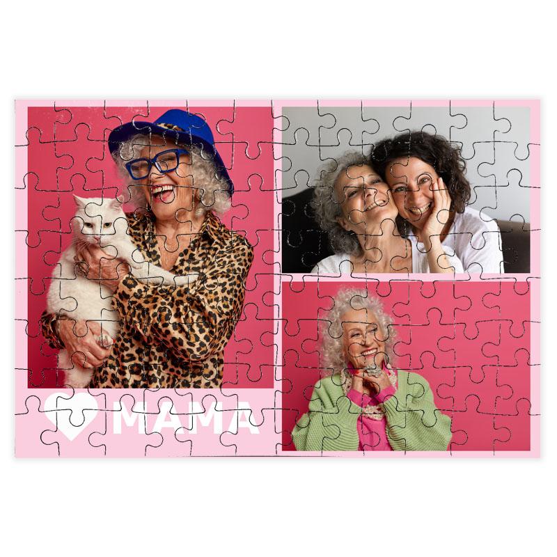 fotoPuzzle ze zdjęcia 96 elementów dla mamy