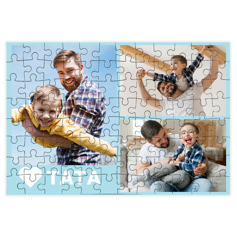 fotoPuzzle ze zdjęcia 96 elementów dla taty