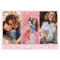 fotoPuzzle ze zdjęcia 96 elementów kolaż róż i love you