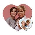Personalizowany magnes ze zdjęciami w kształcie serca