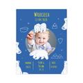 Plakat metryczka ze zdjęciem dziecka 30x40cm personalizowana