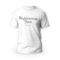 Rozmiar S - koszulka męska z własnym nadrukiem dla taty - biała