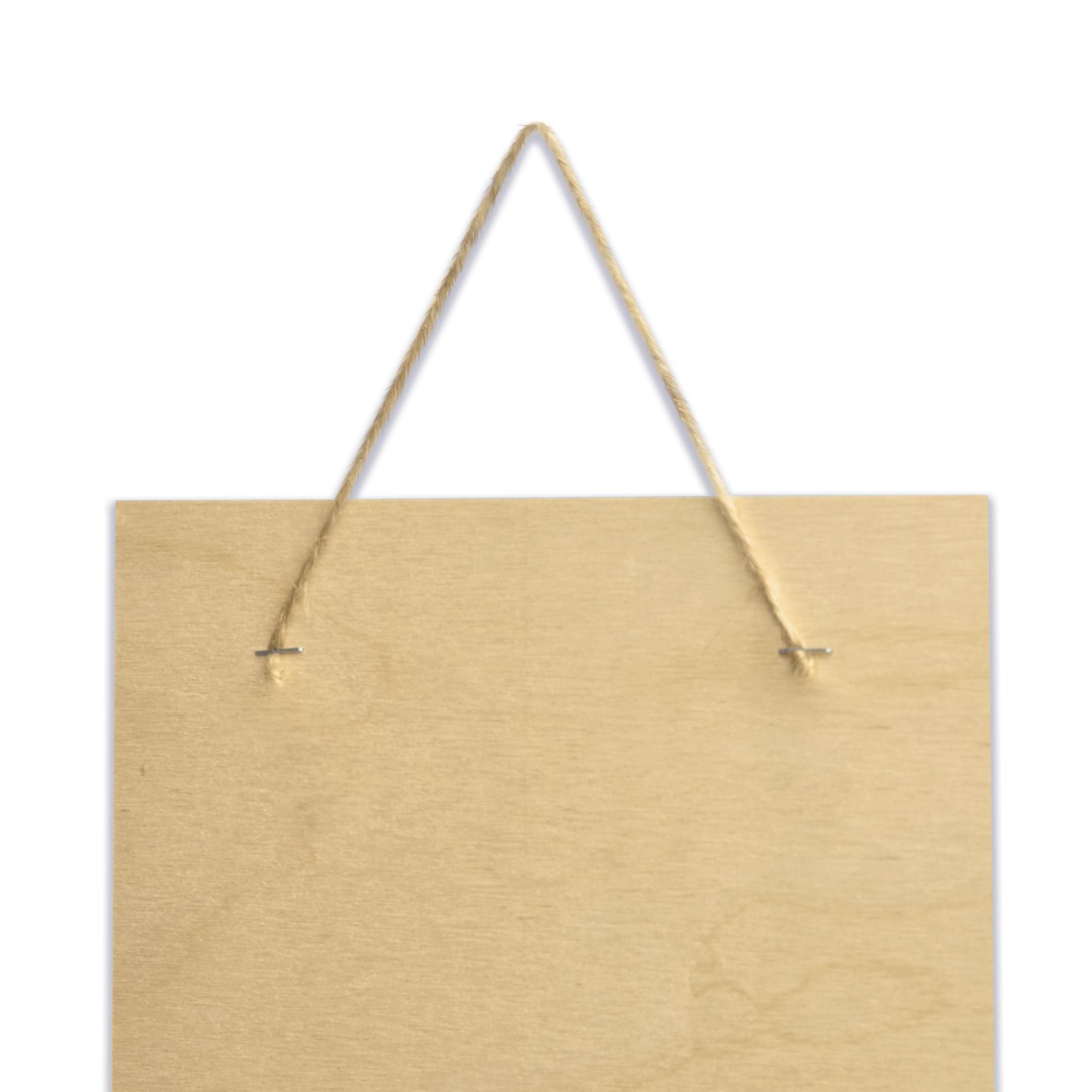 Deska z nadrukiem na prezent na Dzień Dziadka złote serce