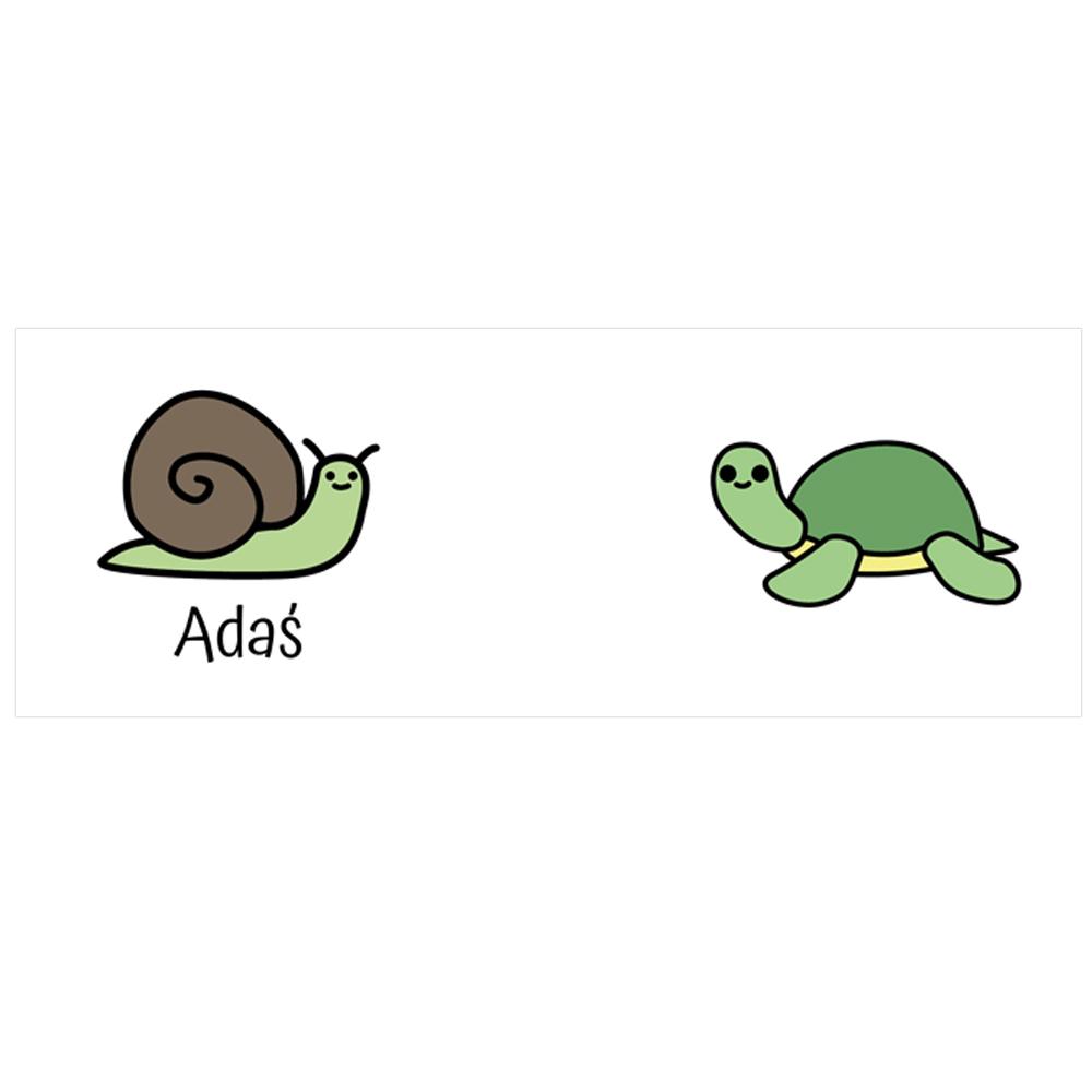 Kubek dla dziecka z imieniem żółw