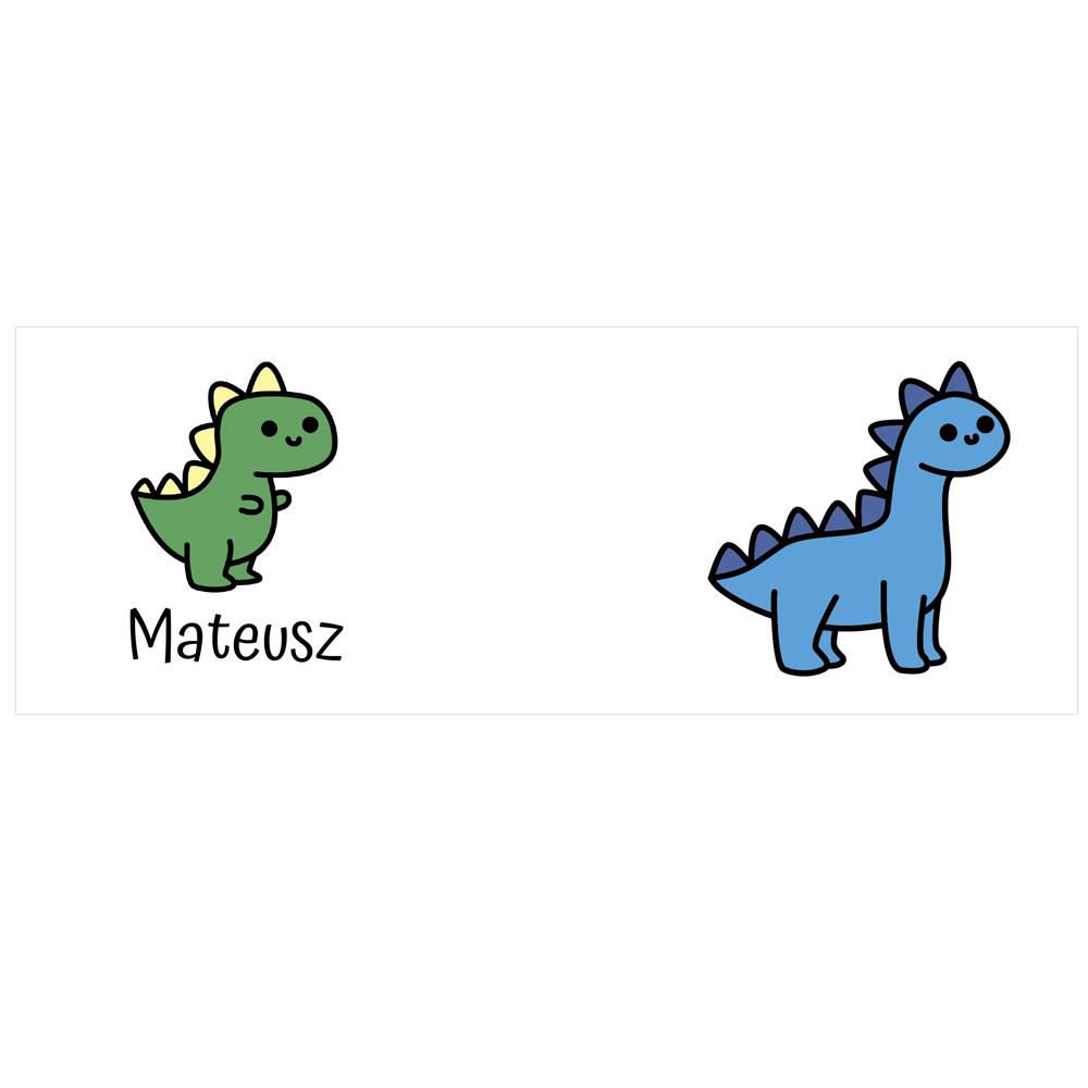 Kubek dla dziecka z imieniem dinozaury