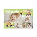 fotoPuzzle ze zdjęcia dla dziecka 35 elementów kolaż dla chłopca koparka