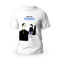 Rozmiar S - koszulka męska z własnym nadrukiem dla taty - Najlepszy Tata - biała