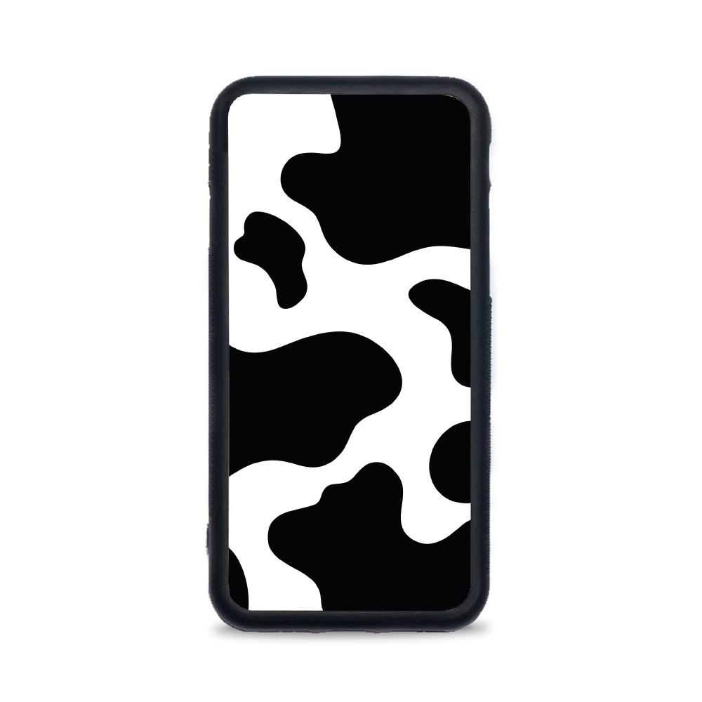 Etui case na telefon iPhone z grafiką - łatki krowy