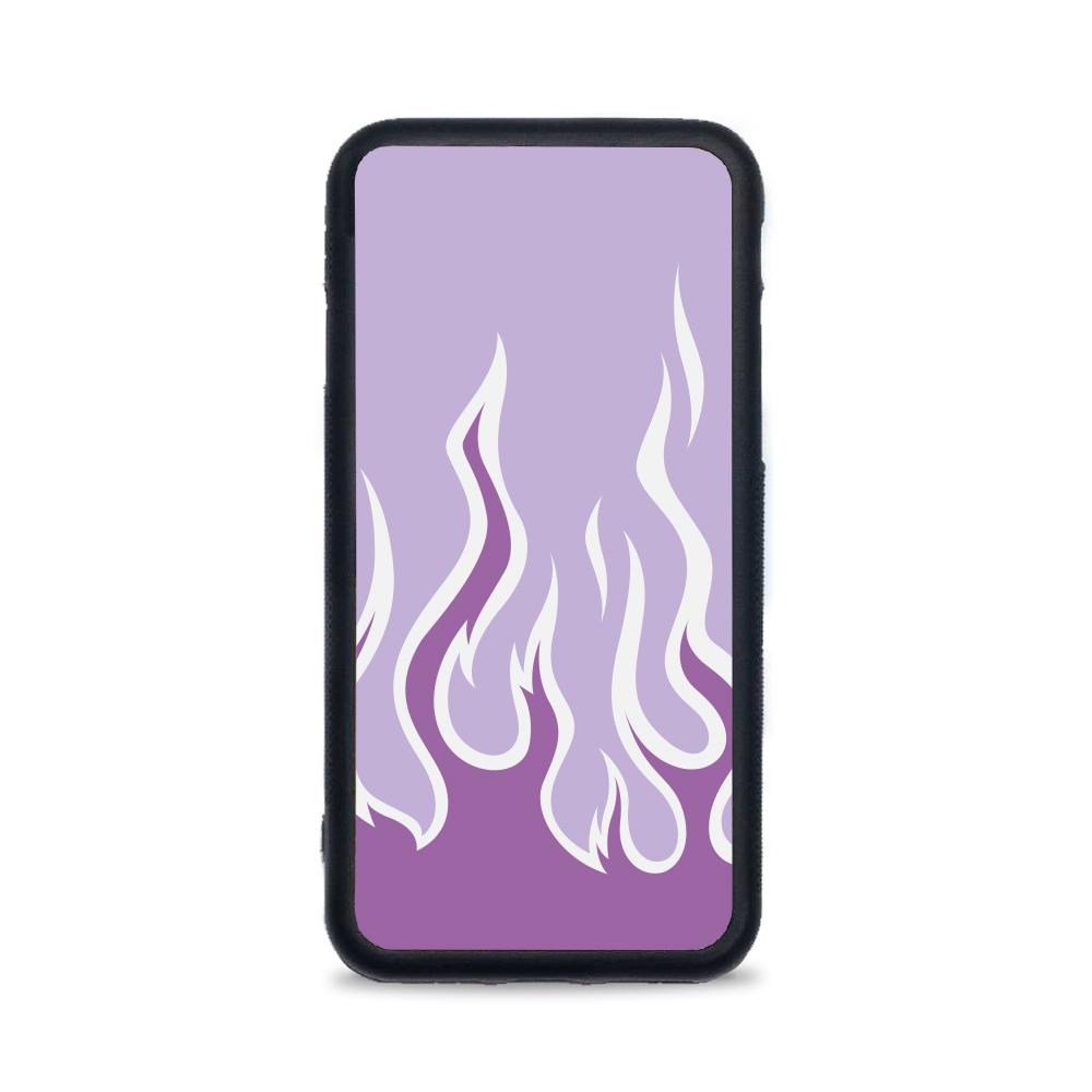Etui case na telefon iPhone z grafiką - płomienie