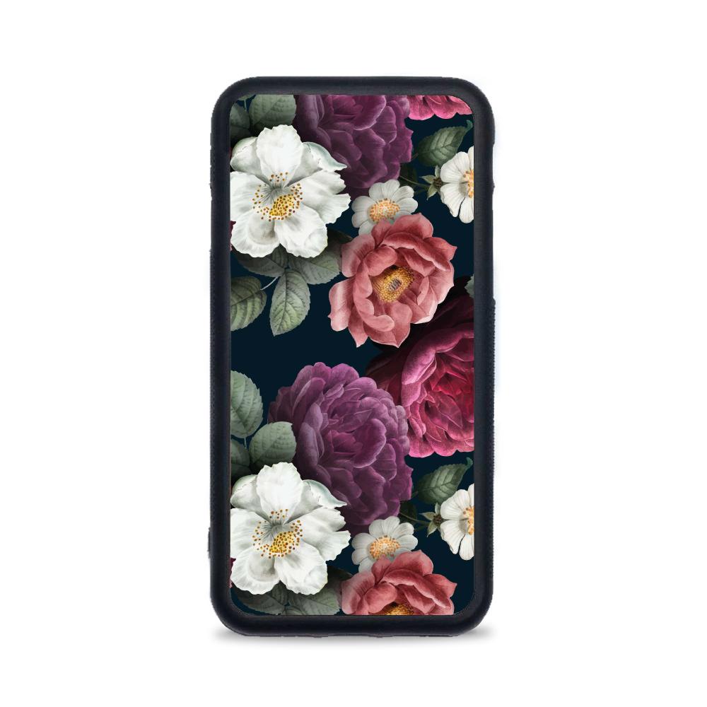 Etui case na telefon iPhone z grafiką - kwiatowy motyw