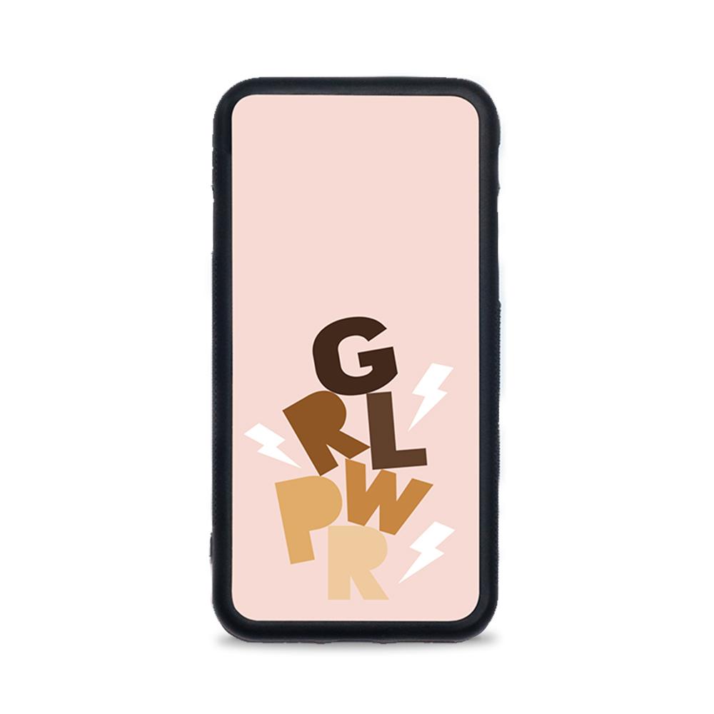 Etui case na telefon iPhone z grafiką - Girl Power