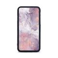 Etui case na telefon iPhone z grafiką - fioletowy marmur