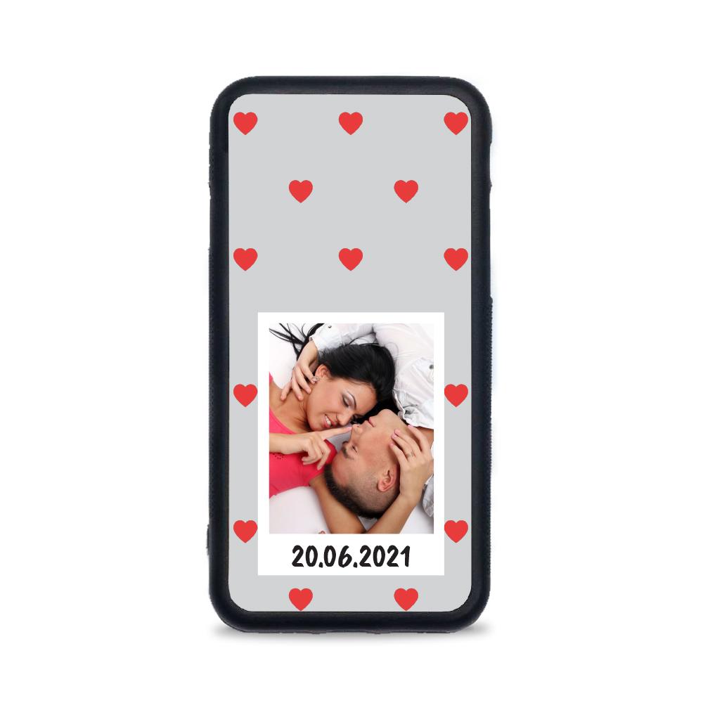 Etui case na telefon iPhone z grafiką - na zdjęcie z Instaxa