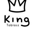 Rozmiar S - koszulka męska z własnym nadrukiem - King - biała