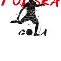 Rozmiar M - koszulka męska z własnym nadrukiem dla kibica - Euro Polska Gola - biała