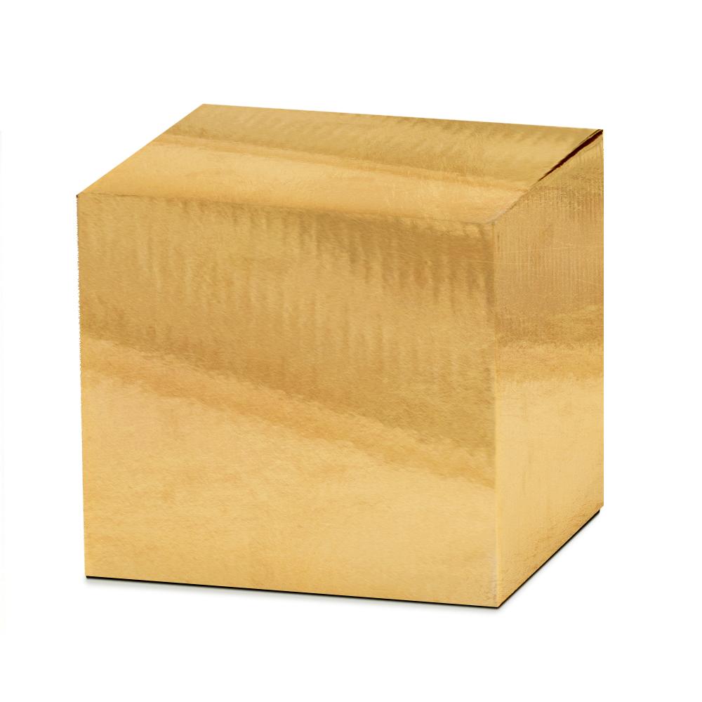 Kubek złoty z własnym nadrukiem napisem zdjęciem