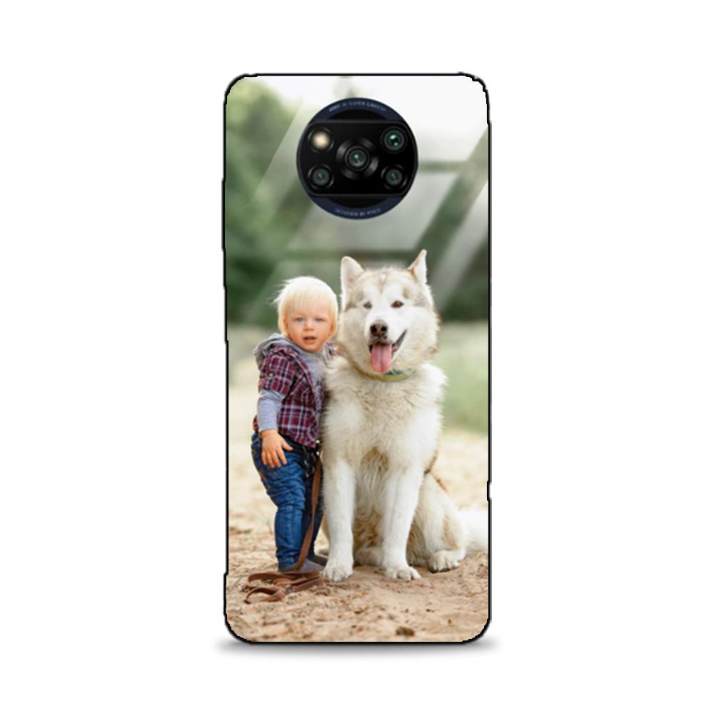Etui case na telefon Xiaomi Poco X3 ze zdjęciem