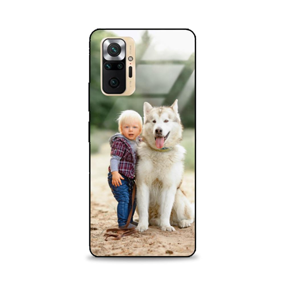 Etui case na telefon Xiaomi Redmi Note 10 ze zdjęciem