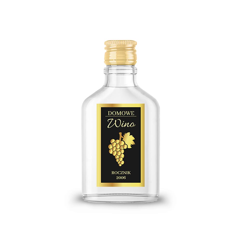 Naklejki na nalewki etykiety samoprzylepne personalizowane bimer alkohol wódkę domowe wino