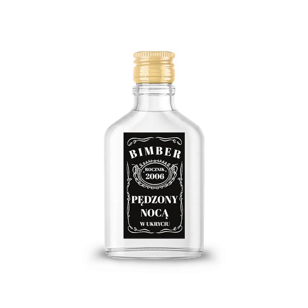 Naklejki na nalewki etykiety samoprzylepne personalizowane bimer alkohol wódkę bimber w ukryciu