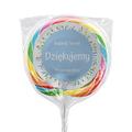 Naklejki na lizaki etykiety samoprzylepne na ślub z imionami podziękowania dla gości kwiaty polne