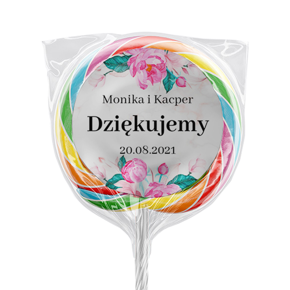 Naklejki na lizaki etykiety samoprzylepne na ślub z imieniem podziękowania dla gości geometryczne złote serce