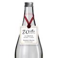 Zawieszki na alkohol wódkę weselną kwadratowe z imionami własny tekst minimalistyczne złotge glamour