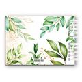 Księga Gości weselnych personalizowana ślub wesele 80 stron A4+ rustykalne zielone liście