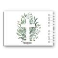 Księga Gości na komunię personalizowana pamiątka 80 stron A4+ rustykalna botaniczna krzyż