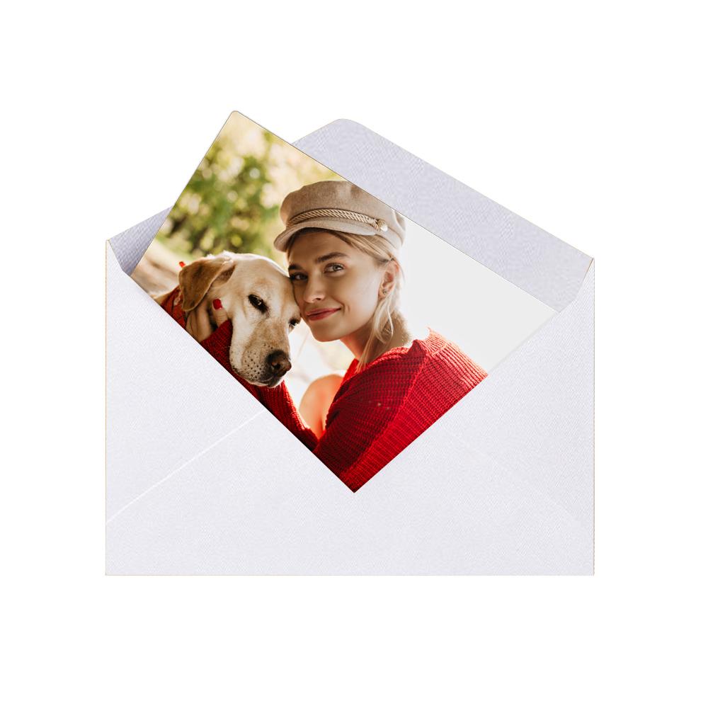fotoMagnesy 9x6 cm + koperty białe 8 sztuk