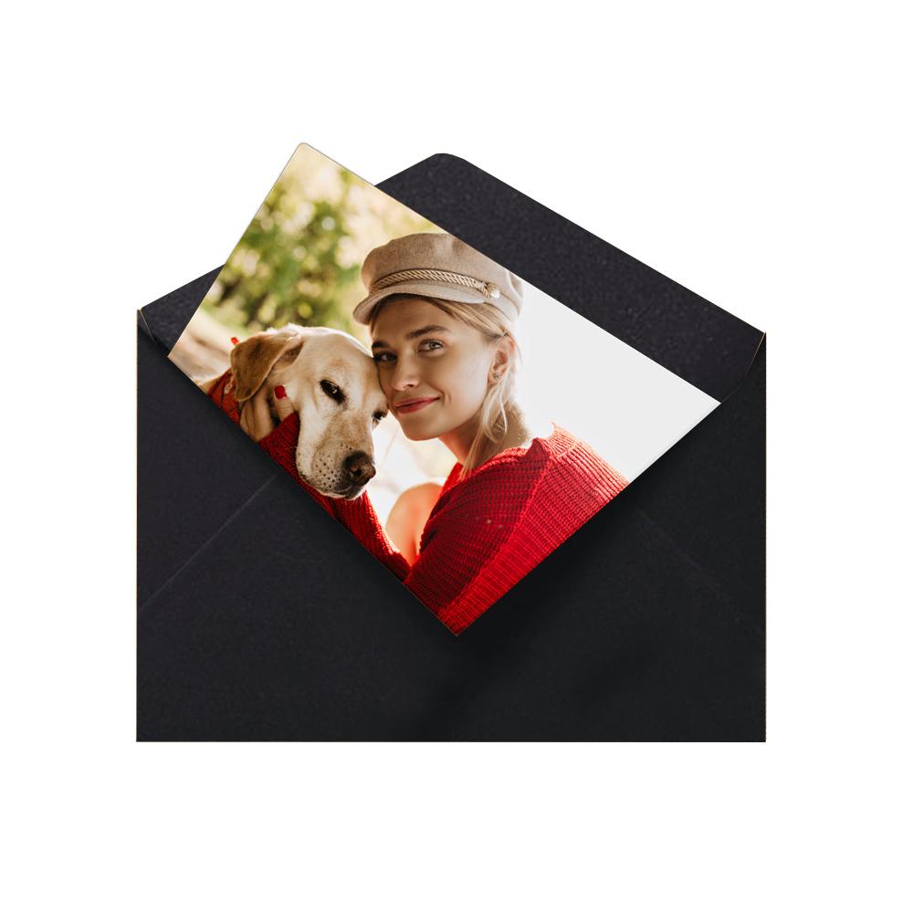 fotoMagnesy 9x6 cm + koperty czarne 8 sztuk