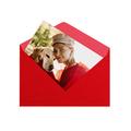 fotoMagnesy 9x6 cm + koperty czerwone 8 sztuk