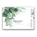Księga Gości weselnych personalizowana ślub wesele 80 stron A4+ rustykalna geometryczna