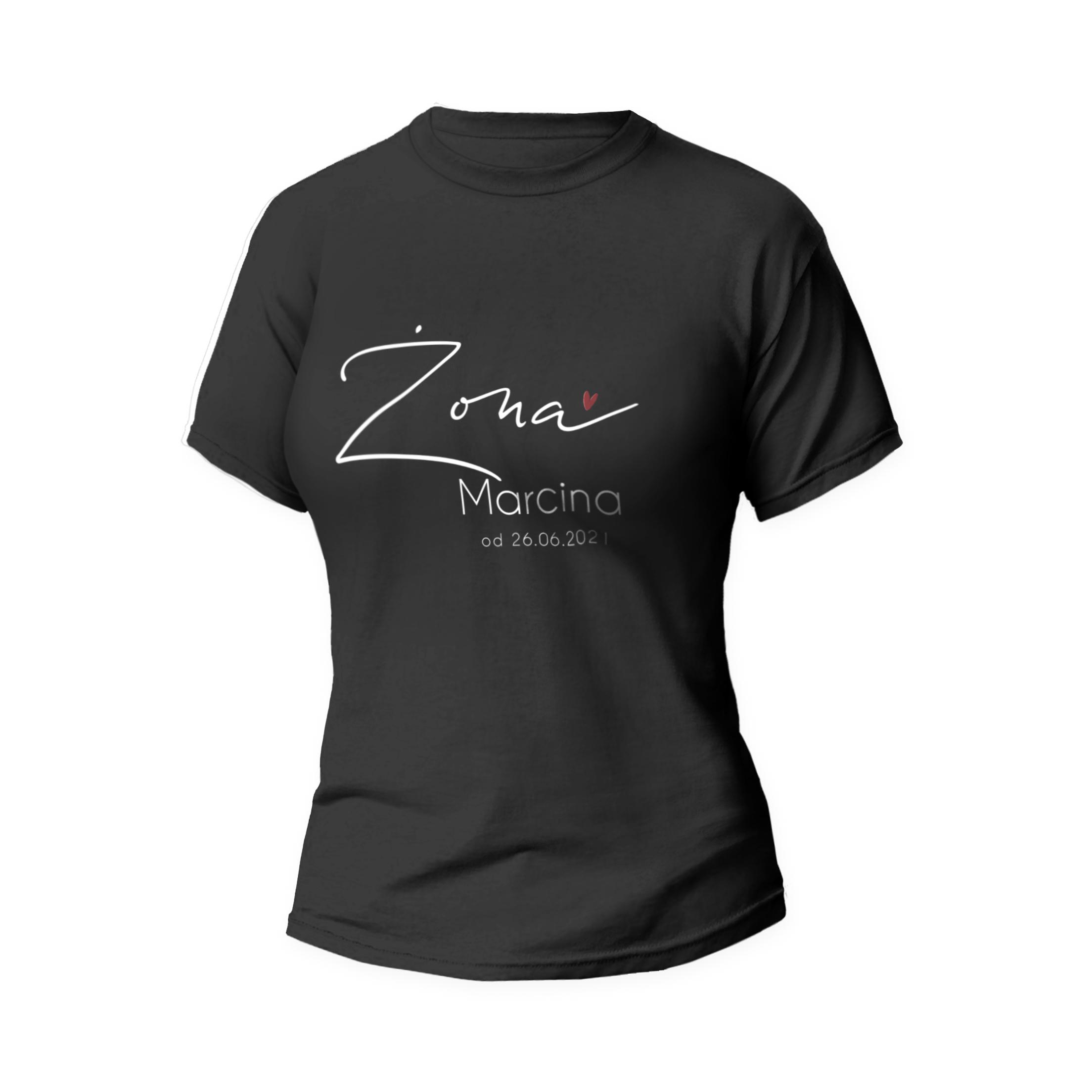 Rozmiar S - koszulka damska dla żony