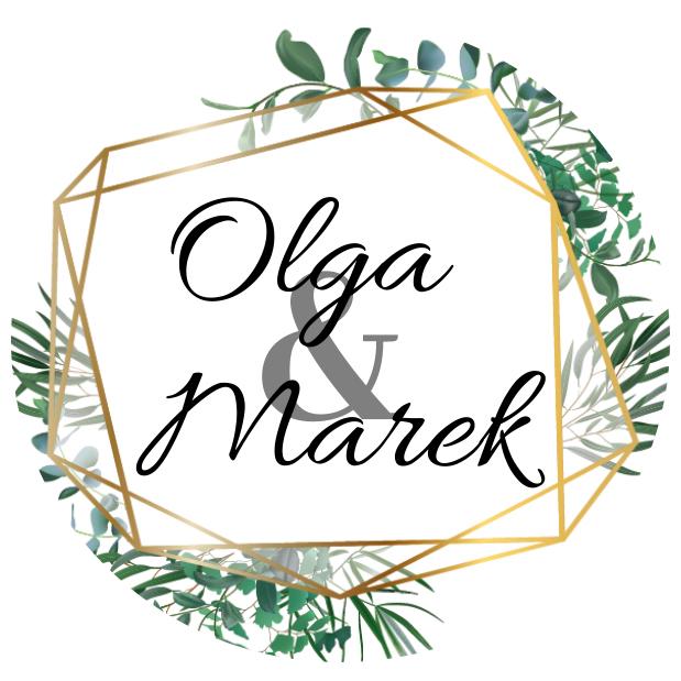 Naklejki etykiety okrągłe na słoiczki z miodem ślub wesele podziękowanie dla gości imiona geometryczne rustykalne liście