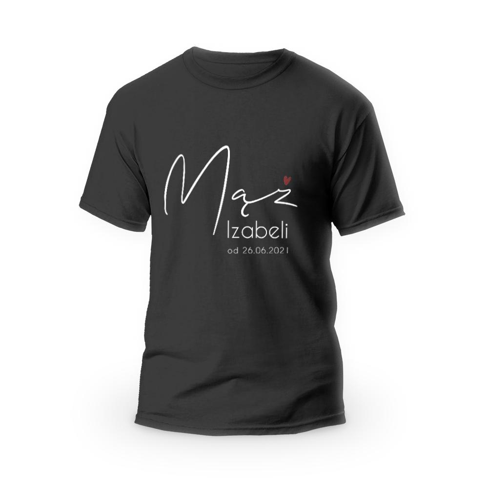 Rozmiar XL - koszulka męska dla męża