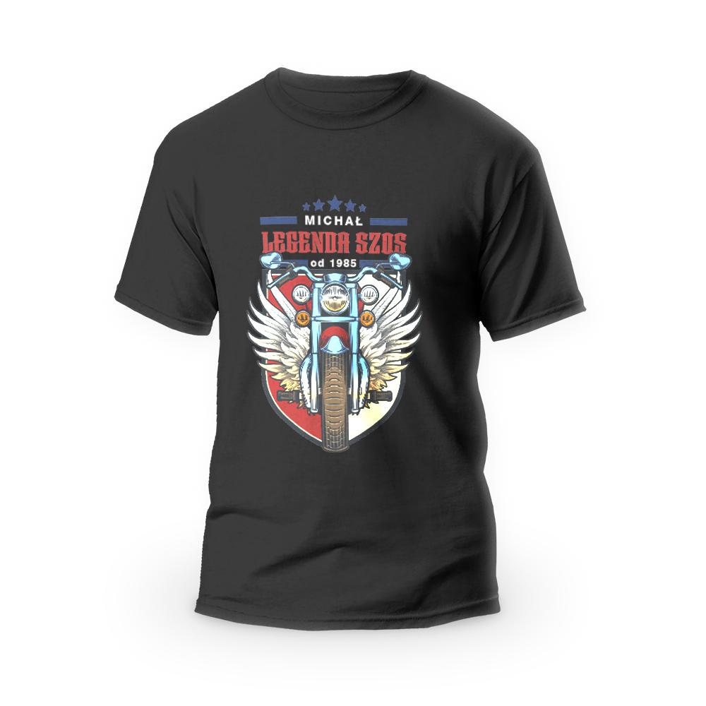 Rozmiar XXL - koszulka męska dla motocyklisty