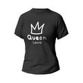 Rozmiar M - koszulka damska dla par Queen