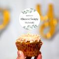 Toppery pikery na tort babeczki personalizowane dekor chrzest chrzciny rustykalne